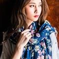 2016 New Fashion Floral Cotton Scarf Women Autumn Winter Warm Tassel Printed Women Brand Shawl Wrap Ladies Long Scarves Pashmina