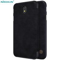 Phone Bag For Samsung J5 2017 Case Original Nillkin QIN Flip Leather Case For Samsung Galaxy