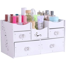 Washing table storage rack bathroom shelf cosmetic box desktop dressing
