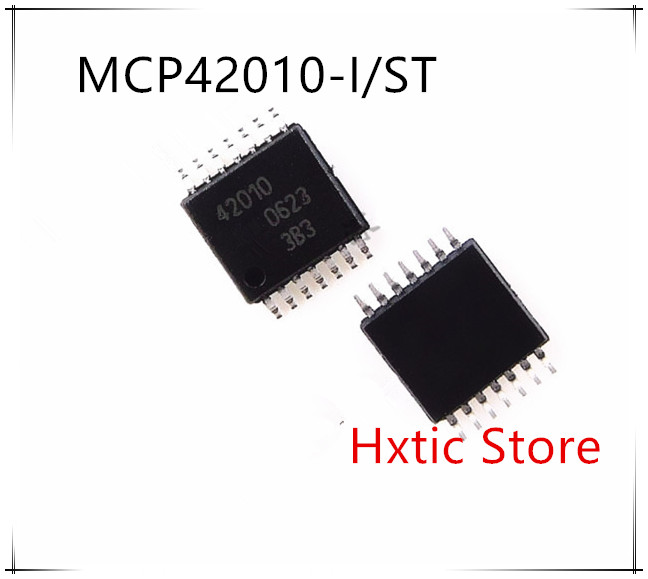 NEW 10PCS/LOT MCP42010T-I/ST MCP42010 MCP42010-I/ST 42010 TSSOP-14  IC