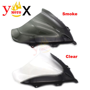 New Motorcycle Tinted/Clear ABS Windscreen Windshield Front Deflector Airflow For BMW K40 K1200S 2003-2009 K1300S 2008-2017