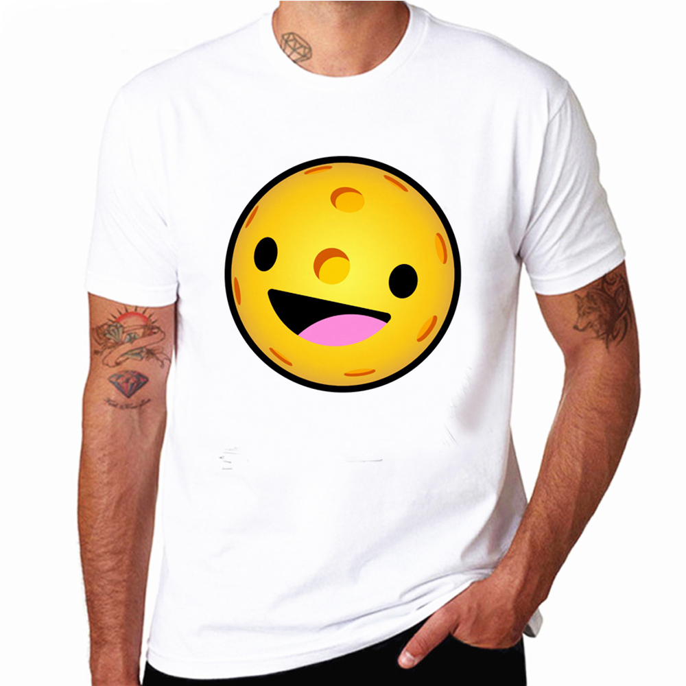 Pickleball Emoji T Shirt Happy Hippie Tie Dye T Shirt Funny Man Tshirts Clothes Summer Tops Plus Size Cute Shirt