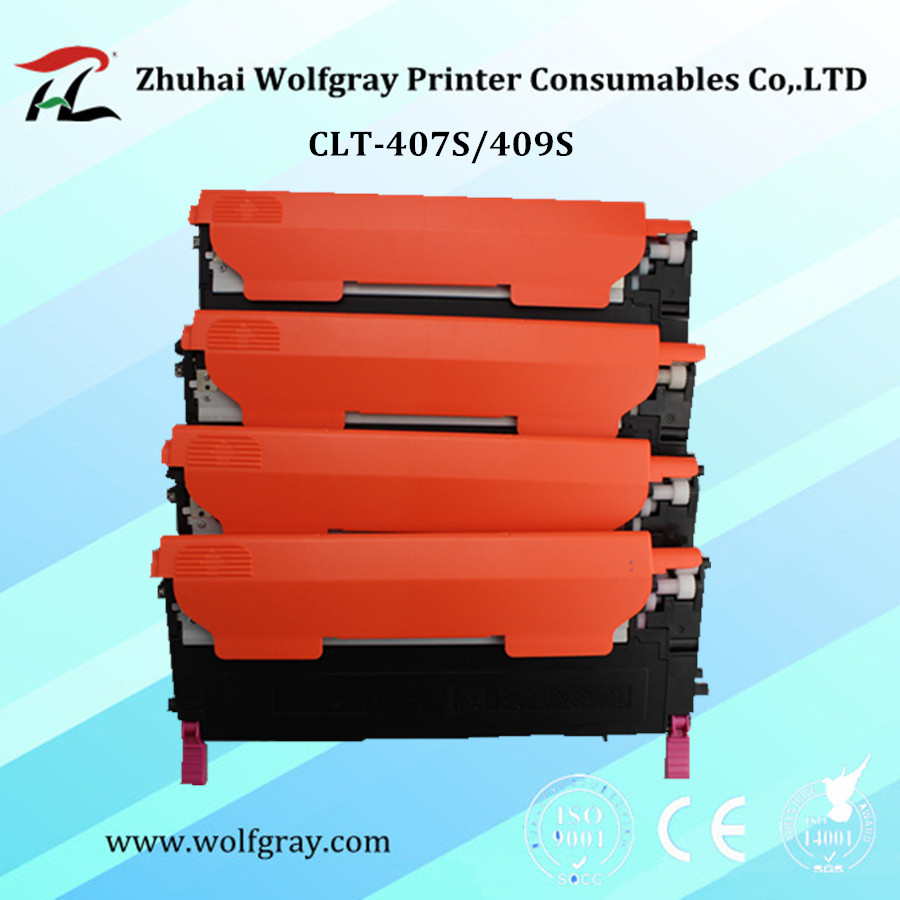 Združljiva CLT-407S clt-k407S K407S 407s k409s 409s toner za Samsung CLP-320 CLP-325W CLX-3185FW CLP-310N CLX-3170