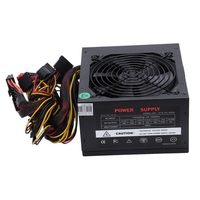 170 260V Max 600W Power Supply Psu Pfc Silent Fan 24Pin 12V Pc Computer Sata Gaming Pc Power Supply For Intel Amd Computer Eu