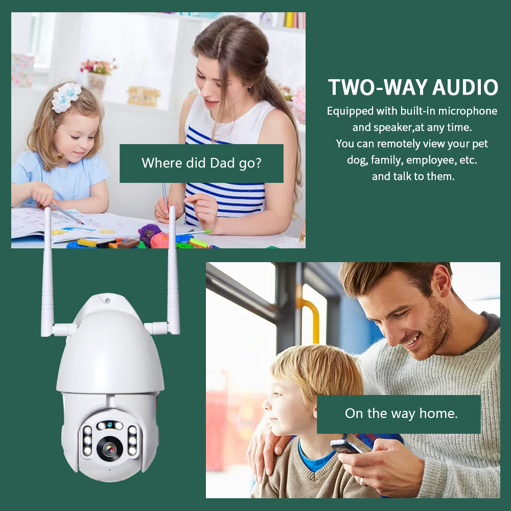 HTB16z.Ja2b2gK0jSZK9761EgFXay INQMEGA 4X Digital Zoom H.265X 1080p PTZ IP Camera Outdoor Speed Dome CCTV Security Cameras WIFI Exterior IR Home Surveilance