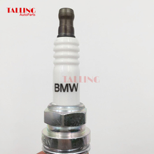 6 шт./лот 12120037607 BR6EQUP свечи зажигания для BMW 328CI 760I M5 M3 X3 X5 E46 E53 318I Z4 Z8 Z3 части автомобиля