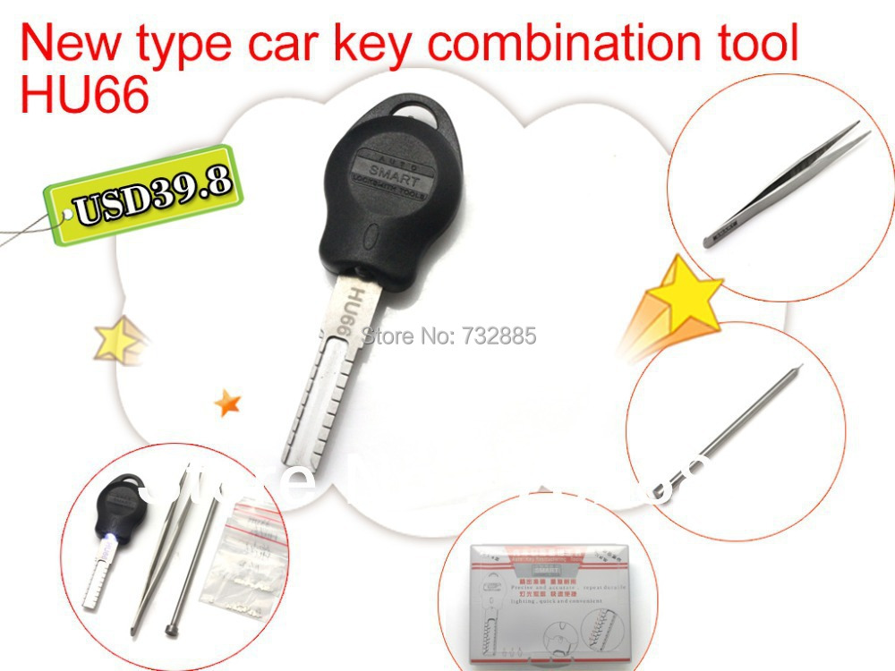 2014 New Car key Combination Tool HU66 Auto Key Restructuring Re Assembling Tool