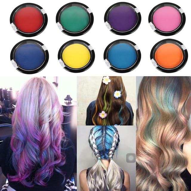 12 24 36 Set Fashion Chalk Color Temporary Hair Dye Pastel Colorful