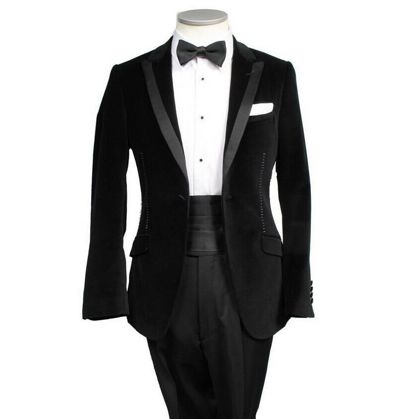 Western Pop Suits Jacket Wedding Coat Suit Groom Tuxedo