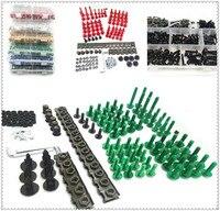 Motorcycle Fairing CNC Body Bolt Kit Screws set Nuts nut aluminum Screw For SUZUKI GSXR1100 GSXR400 GT250 GT550 RG500 RGV250