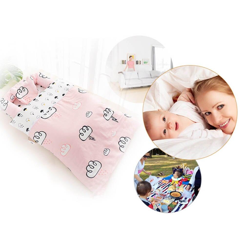 90*50*15 cm haute qualité bébé lit Portable pliable bébé berceau nouveau-né sommeil lit voyage lit pour bébé enfants filles garçons cadeau - 4