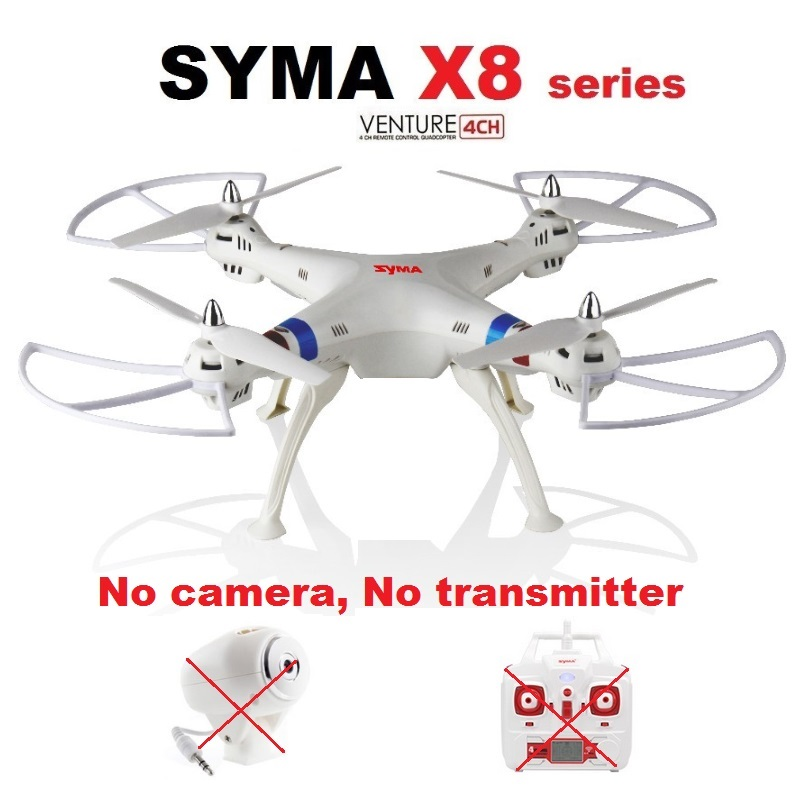 SYMA X8W X8G X8C X8HW X8HG 2.4Ghz 6-Axis Gyro RC Quadcopter Drone UAV Without Camera And Transmitter propeller protective guard landing skid for x8c x8w x8g x8hg white