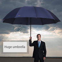 Paradise Big Top Quality Umbrella Men Rain Windproof Large Paraguas Male Women Sun 3 Floding Big