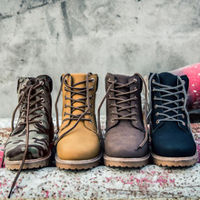 Big Women boots Fashion Martin Boots Snow Boots Outdoor Casual cheap Timber boots Autumn Winter Lover Fur shoes Botas Hombre