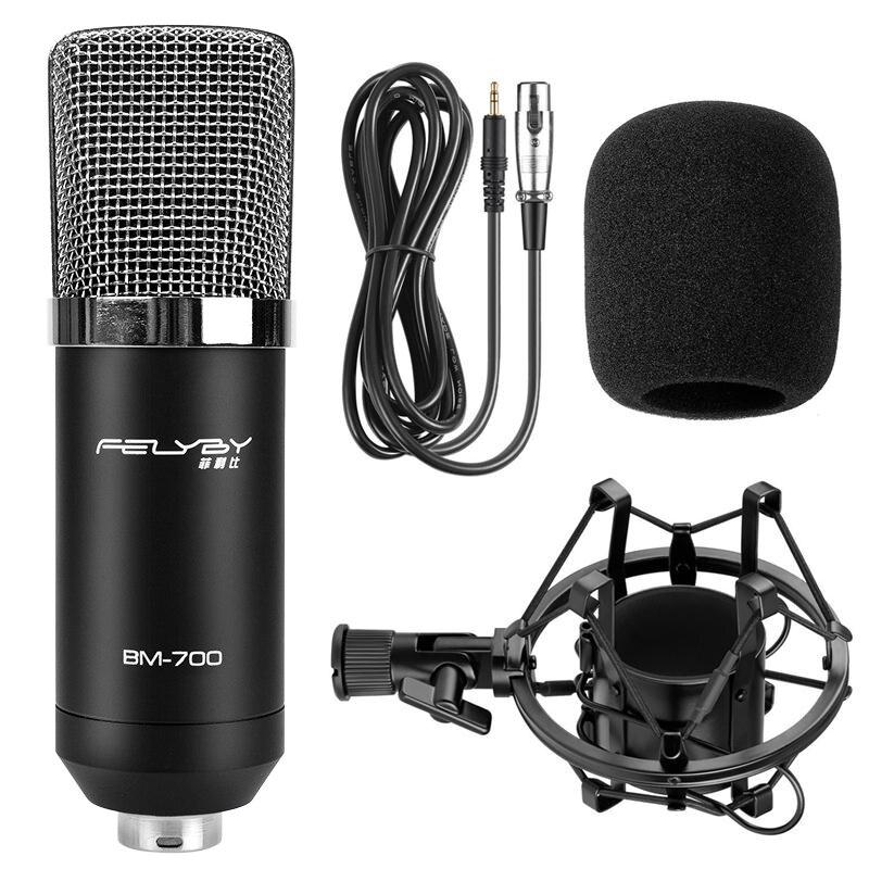FELYBY BM700 Profesional de Alta Calidad de 3.5mm Micrófono con - Audio y video portátil - foto 6