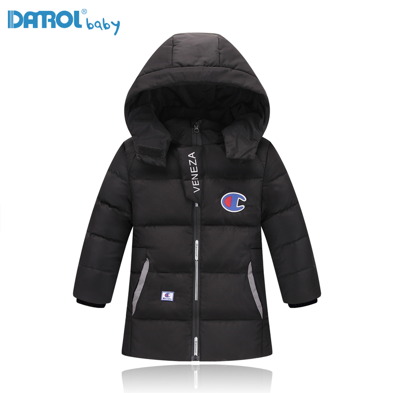 2017 Fashion Down Jacket For Boy Long Winter Jackets Boys With Remove Hat Warm Children Down Jacket Boys Winter Coat YR8071-2 winter down jacket for girls boy coat children s down jackets for boys winter jackets kids outerwears
