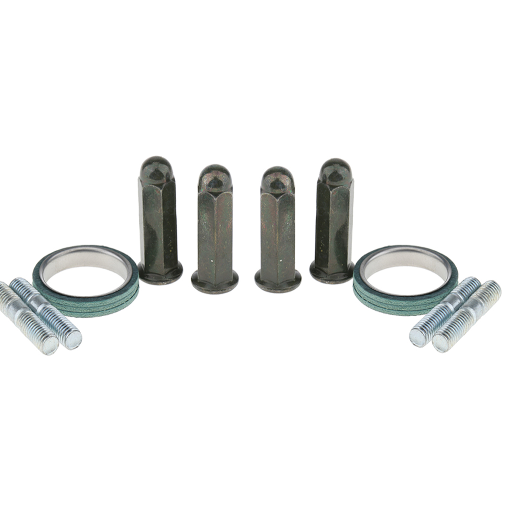2 Set <font><b>Exhaust</b></font> Studs Nuts Gasket Kit <font><b>Exhausts</b></font> <font><b>Exhaust</b></font> <font><b>Systems</b></font> for GY6 50cc 125cc <font><b>150cc</b></font> QMB139 Scooter Dropshipping image