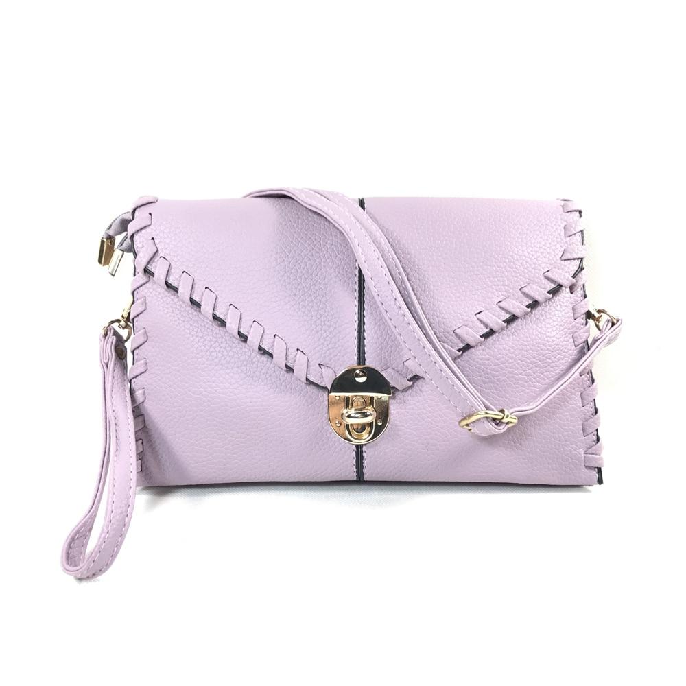 여자 가방 어깨 가방 보라색 여성 PU 가죽 핸드백 고품질 어깨 가방 패션 숙녀 핸드백 Bolsas 0339