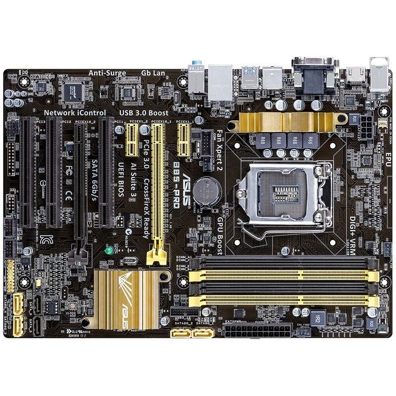 B85-PRO motherboard 1150 game board asus h87 plus deluxe board 1150 b85 motherboard