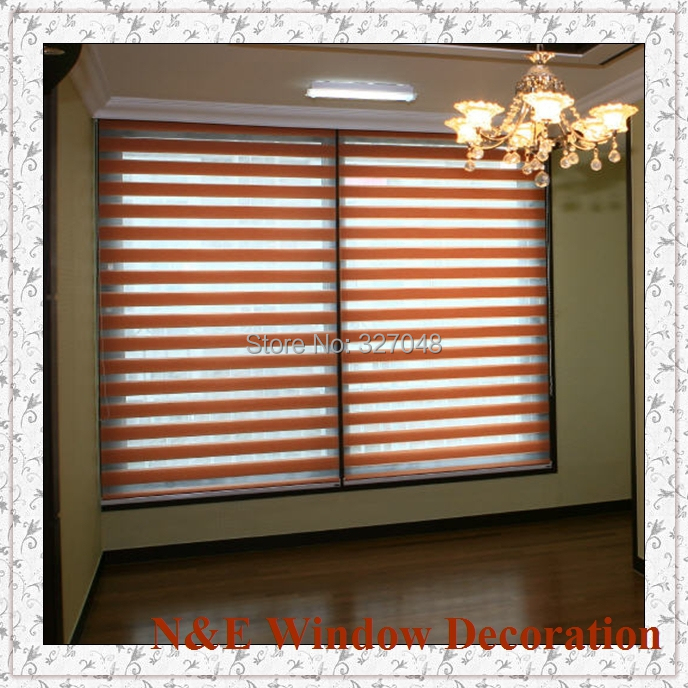 Free Shipping Window Blinds Zebra Roller Shades And Type Of Office Curtain For Living Room In Curtains From Home Garden On Aliexpress