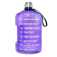 BuildLife 1 галлон бутылка для воды с маркер времени 3.78L/2.2L/1.3L 128 унц./73 унц./43 унц. BPA бесплатно пластик большой объем для воды кувшин