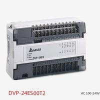 Delta PLC ES series DVP24ES00T2 24 point 16DI 8DO (NPN transistor) AC Power New