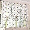 Кухонные шторы с красивыми бабочками  тюль для окон  прозрачные шторы для гостиной  спальни  окна  римская штора с вышивкой