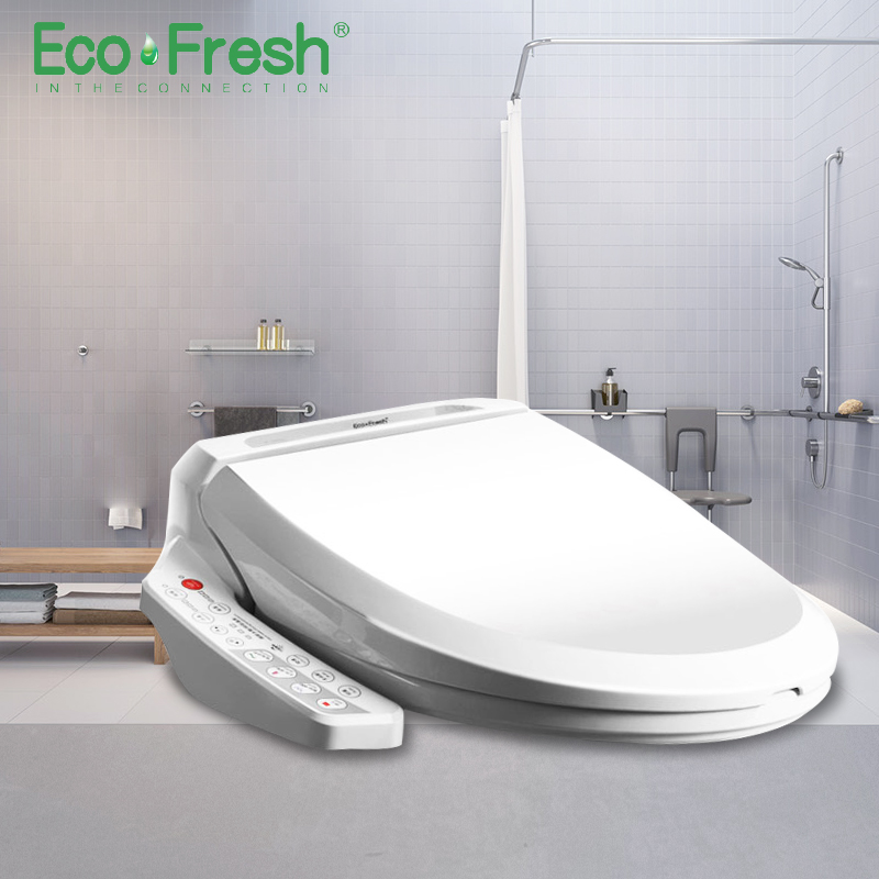 EcoFresh Smart toilet seat Electric Bidet cover intelligent bidet heat clean dry Massage care for child woman the old