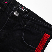 RZIV 2018 jeans woman casual stretch denim solid color stitching waist black jeans and skinny jeans trouser
