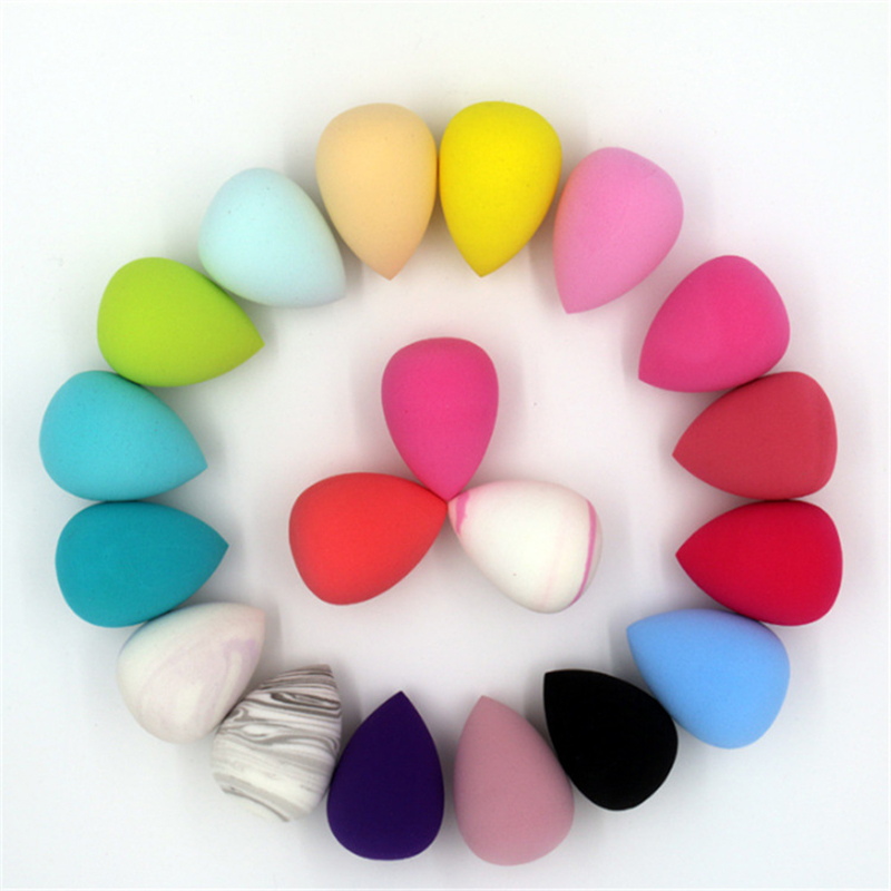 8PCS Pro Makeup Blender Foundation Puff Multi Color Sponges Water Cosmetic Blender Blending Powder Smooth Make Up Sponge Tool in Cosmetic Puff from Beauty Health