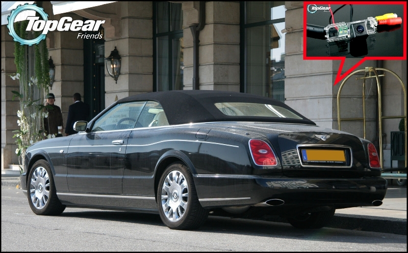 US $39 03 |Car Camera For Bentley Azure 2007~Onwork High Quality Rear View  Back Up Camera For TOPGEAR Friends Use | CCD + RCA-in Vehicle Camera from