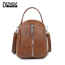 DIZHIGE Brand Luxury PU Leather Women Handbag High Quality Crossbody Bag For Fashion Solid Zipper Female Messenger New