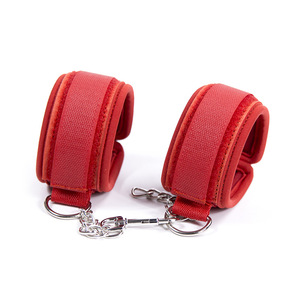 Image 3 - Soft Sponge With Metal Chain Sex Handcuffs Restraints Bdsm Bondage Slave Sex Toys for Couple Handcuff & Ankle Cuff