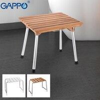 GAPPO ฝักบัวติดผนังที่นั่งพับ shower seat เก้าอี้ bench ห้องน้ำเก้าอี้อาบน้ำสตูล