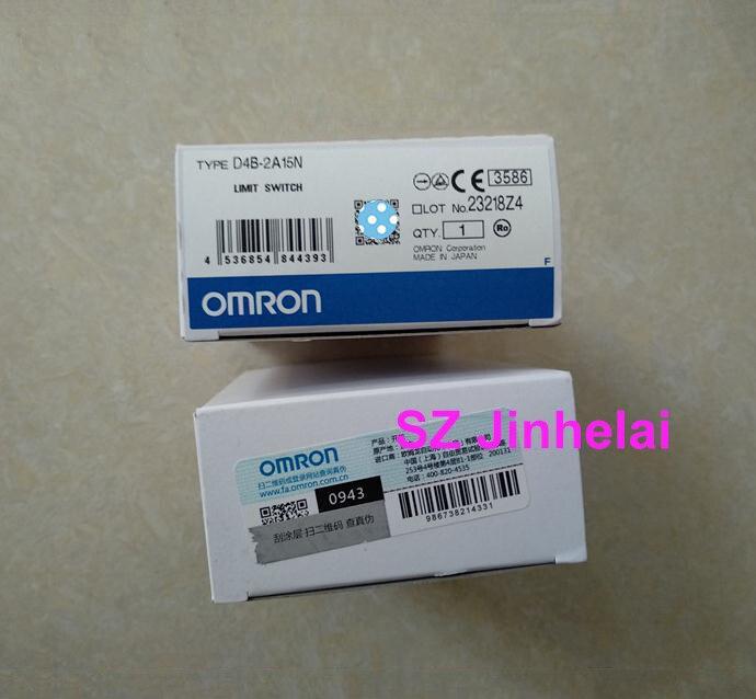 OMRON D4B-2A15N Authentic original LIMIT SWITCHOMRON D4B-2A15N Authentic original LIMIT SWITCH
