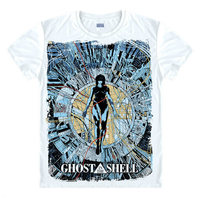Ghost In The Shell T Shirt Top Men T Shirt Clothing Short Sleeve Brand Unisex TEE