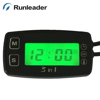 RL-TM005 TS003 PT100 -20 +300 TEMP METER thermometer voltmeter clock temperature meter for pit bike motorcycle generator engine