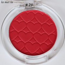 2017 Hot Sale New Blood red Eye Shadow Super Shock Durable Waterproof Single color Shimmer makeup #23