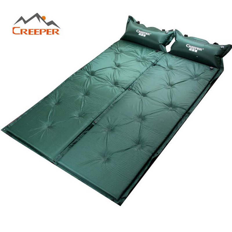 Brand Outdoor Camping Mats Foldable Automatic Inflation Sleeping Mattress Waterproof Splicing Moisture Pad 72 05x22