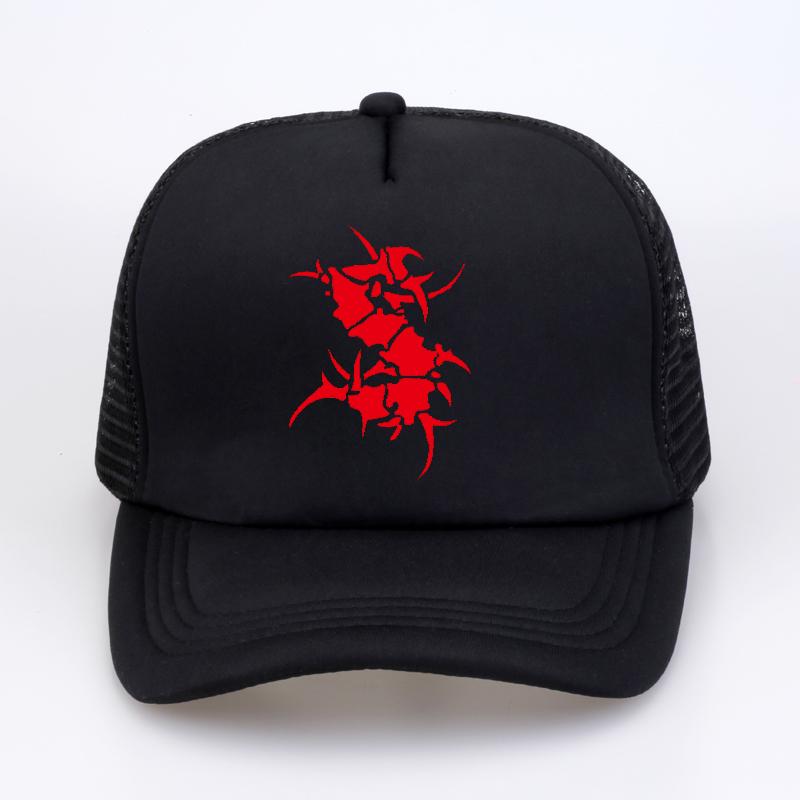 35f47b1b SEPULTURA Metal Rock Band Baseball Caps Summer Men Women Printed ...