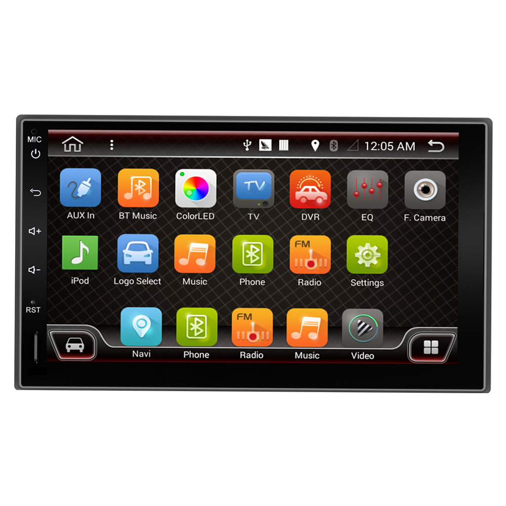 7 2 din android 6 0 2din New universal Car Radio Double Car font b Player