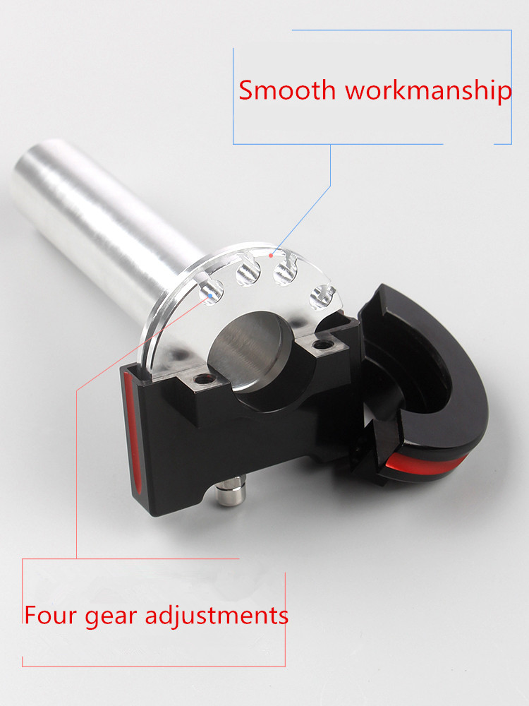 Motorcycle Parts Throttle Grips Settle amp Twist Gas Throttle Handle 7 8 39 39 22mm Handbar Motorcycle accessories modifications in Handlebar from Automobiles amp Motorcycles