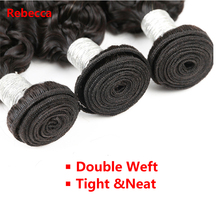 Rebecca Malaysian Curly Hair Weave 1 bundle Remy Human Hair Extension For Salon super low ratio Longest Hair PP 10% hair weft