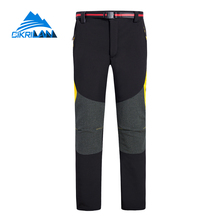2017 Softshell Hiking Trekking Outdoor Pants Men Water Resistant Pantalones Senderismo Hombre Camping Climbing Fishing Trousers