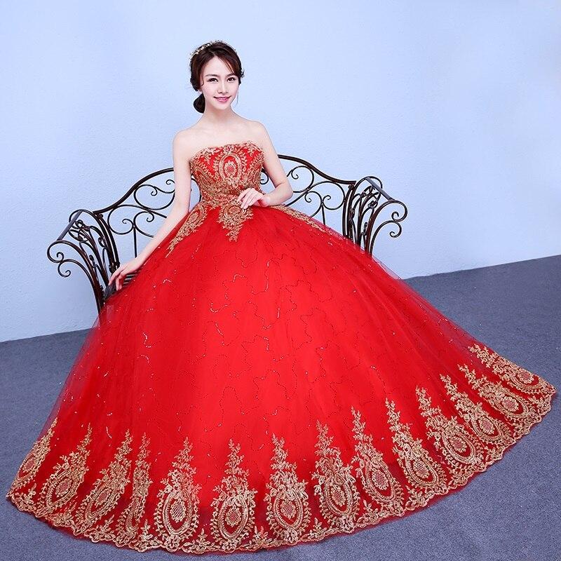 2016 New Stock Plus Size Women Bridal Gown Wedding Dress: 2017 New Stock Plus Size Women Bridal Gown Wedding Dress