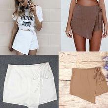 f2c18a56b1 Women Fashion Casual Shorts Beach Short Hot Pants Sexy High Waist Summer  Lady s(China)