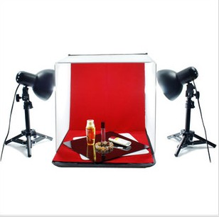 Photography Photo Table Top Light for Studio Softbox Light Shooting Tent Light  Jewelry small 40cm photography lighting CD50