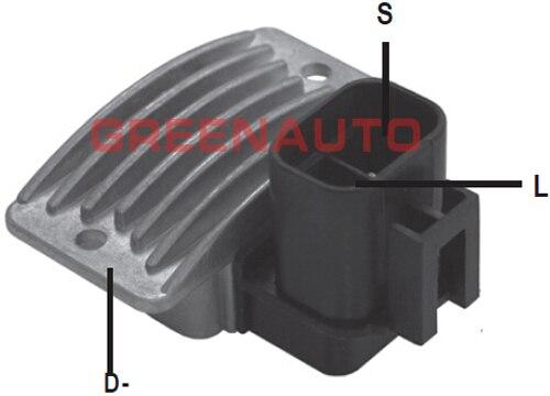 Regulador de tensão ok05418300a do alternador 14 v para o carnaval 2.9 tdi de kia para o oem 02131-9040 OK552-18-300B do alternador ok55218300b