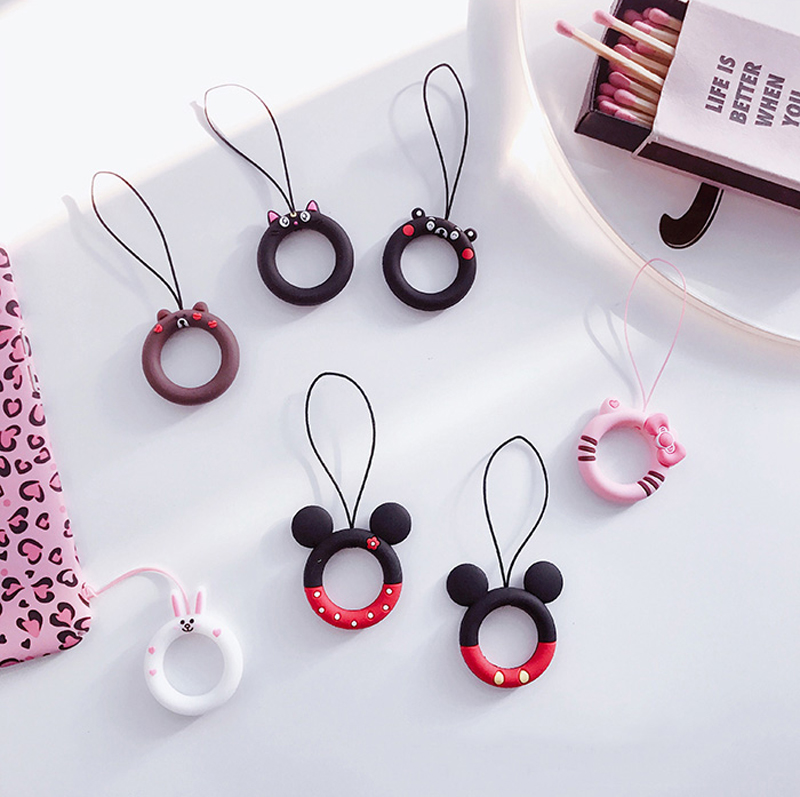 1pc Cute Mini Dolls Pendant Gift For Mobile Phone Straps Bags Decoration Cartoon Movie Plush Toy High Standard In Quality And Hygiene Bag Parts & Accessories
