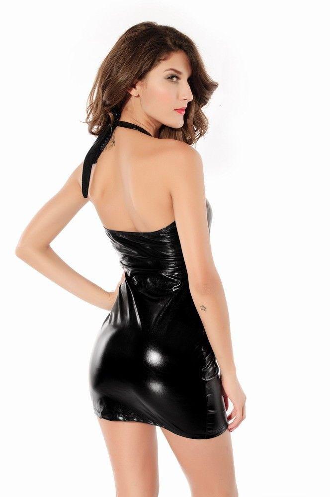 Adult underwear latex dresss